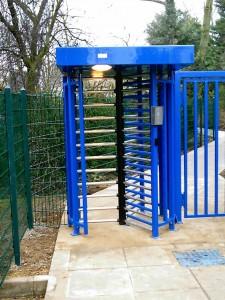 Access Control Roll Gate